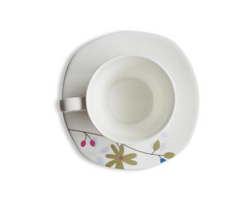 美朴生活 物语兰陶瓷咖啡杯碟套组 YDCFK0041